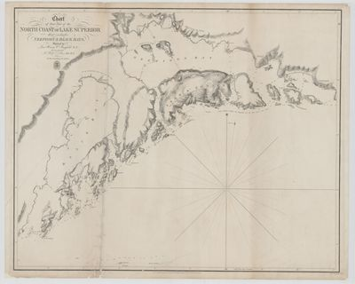 Chart of that Part of the North Coast of Lake Superior that includes Neepigon & Black Bays [1823]