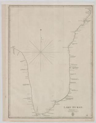 Lake Huron. Sheet V [1822]