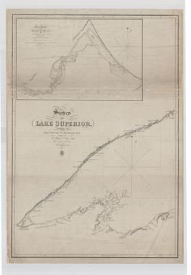 Survey of Lake Superior. Sheet 1 [1823-25]