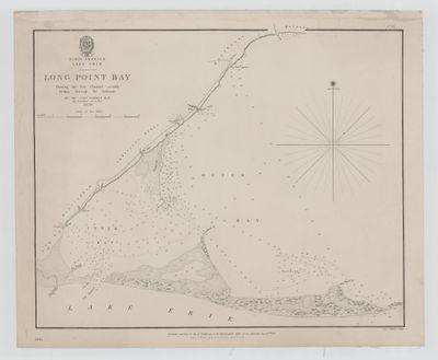Lake Erie. Long Point Bay [1839]