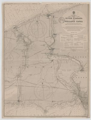 River Niagara and Welland Canal [1897]