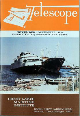 Telescope, v. 23, n. 6 (November - December 1973)