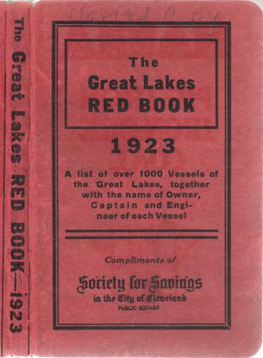 The Great Lakes Red Book, 1923
