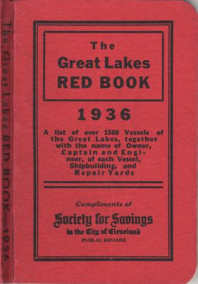The Great Lakes Red Book, 1936