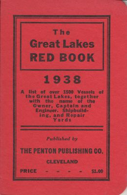 The Great Lakes Red Book, 1938