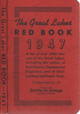 The Great Lakes Red Book, 1947