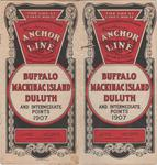 Anchor Line: Buffalo, Mackinac Island, Duluth and Intermediate Points, 1907