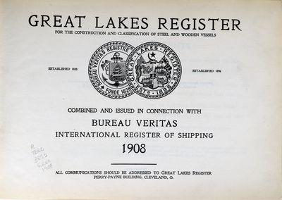 Great Lakes Register 1908