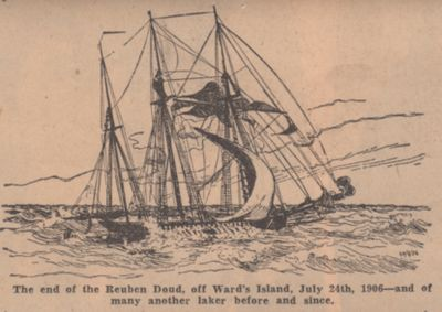 Lake Erie to Africa, England, Germany, South America: Schooner Days CXCI (191)