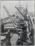 Deck Cranes on the steamer Pioneer
