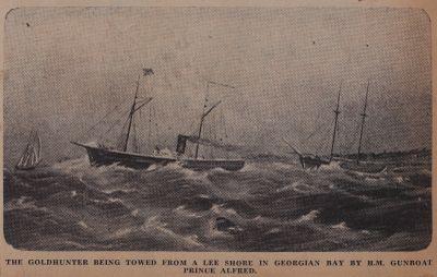 Rainbow's End for Goldhunter Was Little Pike Bay: Schooner Days CCCXLI (341)