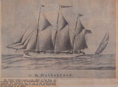 Tamarac Ships With Wooden Pins: Schooner Days CCCXLIII (343)