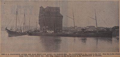 "Ripples Over the ""Nellie Sherwood"": Schooner Days CCCLV (355)"