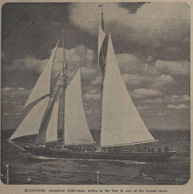 Cup Yacht? Fisherman? Lake Schooner?: Schooner Days CCCLXIX (369)