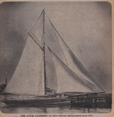 Flat Irons and Their Fate: Schooner Days CCCLXXX (380)