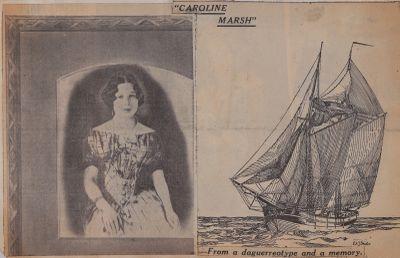 Beauty and Port Britain Eighty Odd Years Ago: Schooner Days CCCLXXXVII (387)