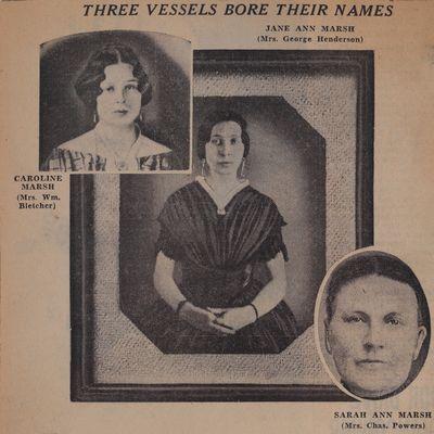 Three Sisters of Old Port Britain: Schooner Days CCCXCII (392)
