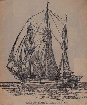 """Last """"Barque"""" of the Marsh Fleet: Schooner Days CCCXCIII (393)"""