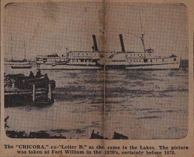 Rocking Power-Plant of Old Blockade Runner: Schooner Days CCCXCVIII (398)