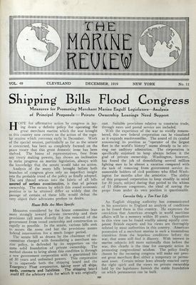 Marine Review (Cleveland, OH), December 1919