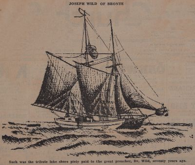 Sky Pilot and Shipwright, Sweep Stakes Saved Both: Schooner Days CCCCLXXIII (473)