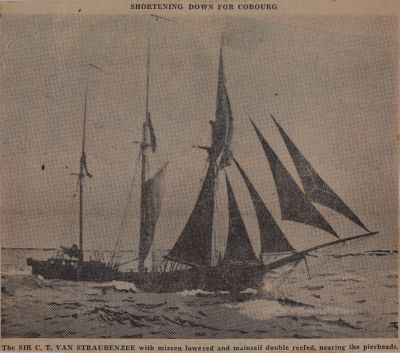 Two Came to Cobourg and One Stayed There: Schooner Days CCCCXCl (491)