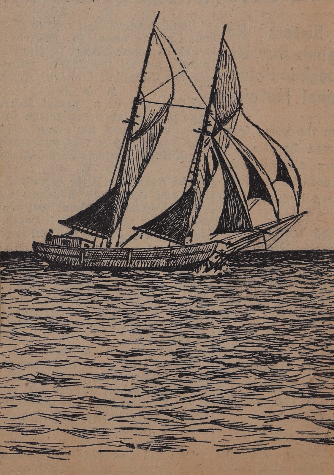 """""""Cullud"""" Folks and the Marquis: Schooner Days CCCCXCVI (496)"""