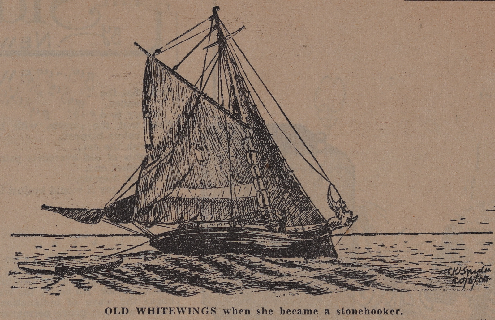 Old War Horse Spared the Colts: Schooner Days DXIV (514)