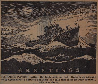 Winter Convoy in Battle of Atlantic: Schooner Days DXXV (525)