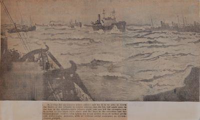 Winter Convoy--Two Sundays At Sea In Battle Of The Atlantic: Schooner Days DXXVII (527)