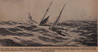 Wild Sights on Windy Nights Off the Bonnet: Schooner Days DXLVI (546)