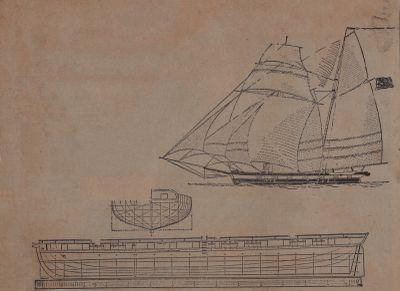 """""""Kaiser"""" of 1813 Built Warship in Three Weeks: Schooner Days DLXII (562)"""