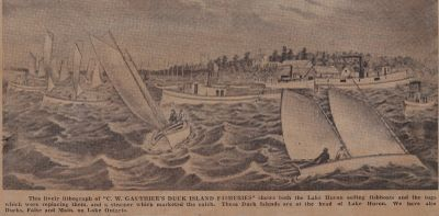 Lake Fishboats Type-of-Their-Own Fished All Winter: Schooner Days DLXIII (563)