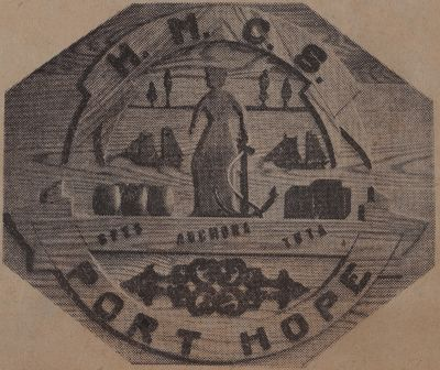 Warship's Badge From Adoption Port Has Tale of Tar: Schooner Days DLXV (565)