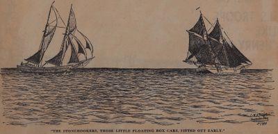 Sailor Said His Prayers When the Queen Jumped: Schooner Days DLXVI (566)