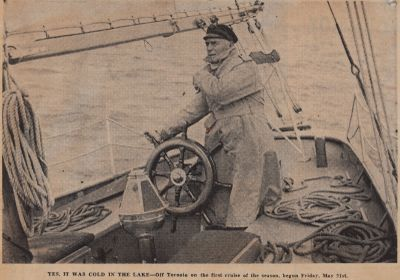Sailing Ontario in Wonder Year 1943: Schooner Days DLXCIV (594)
