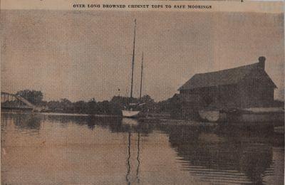 Penetrating Port Credit at High Water: Schooner Days DXCV (595)