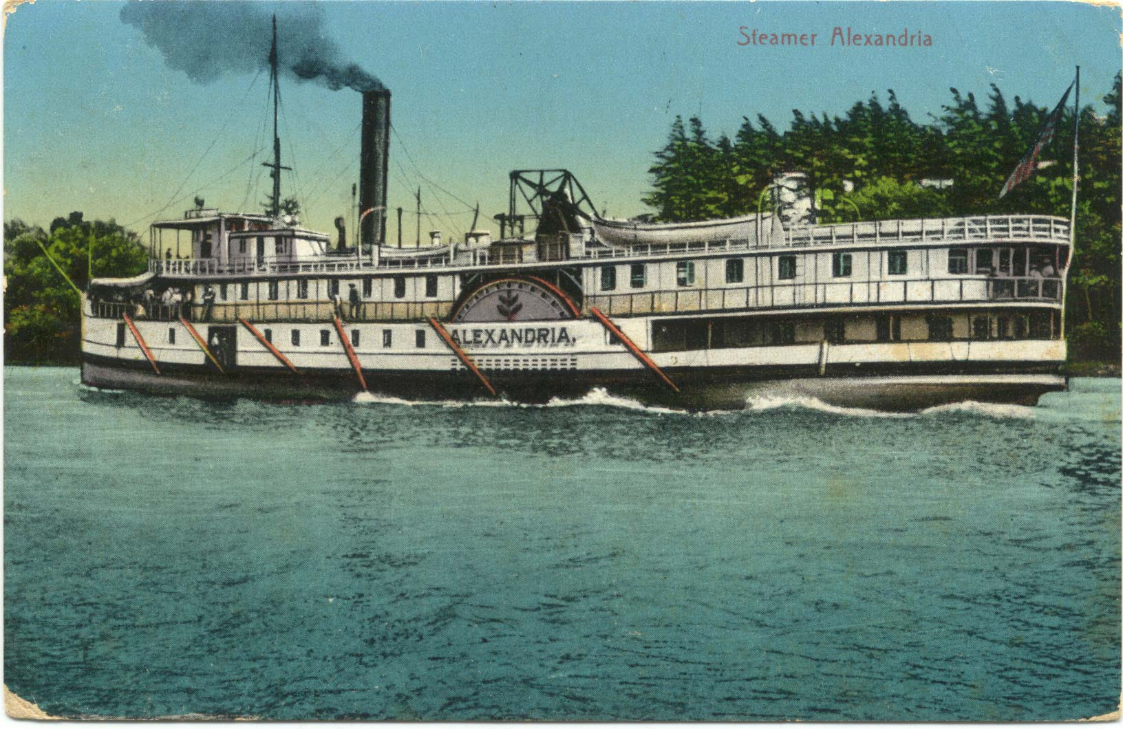Steamer Alexandria