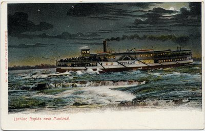 Lachine Rapids near Montreal