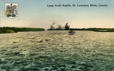 Long Sault Rapids, St. Lawrence River, Canada