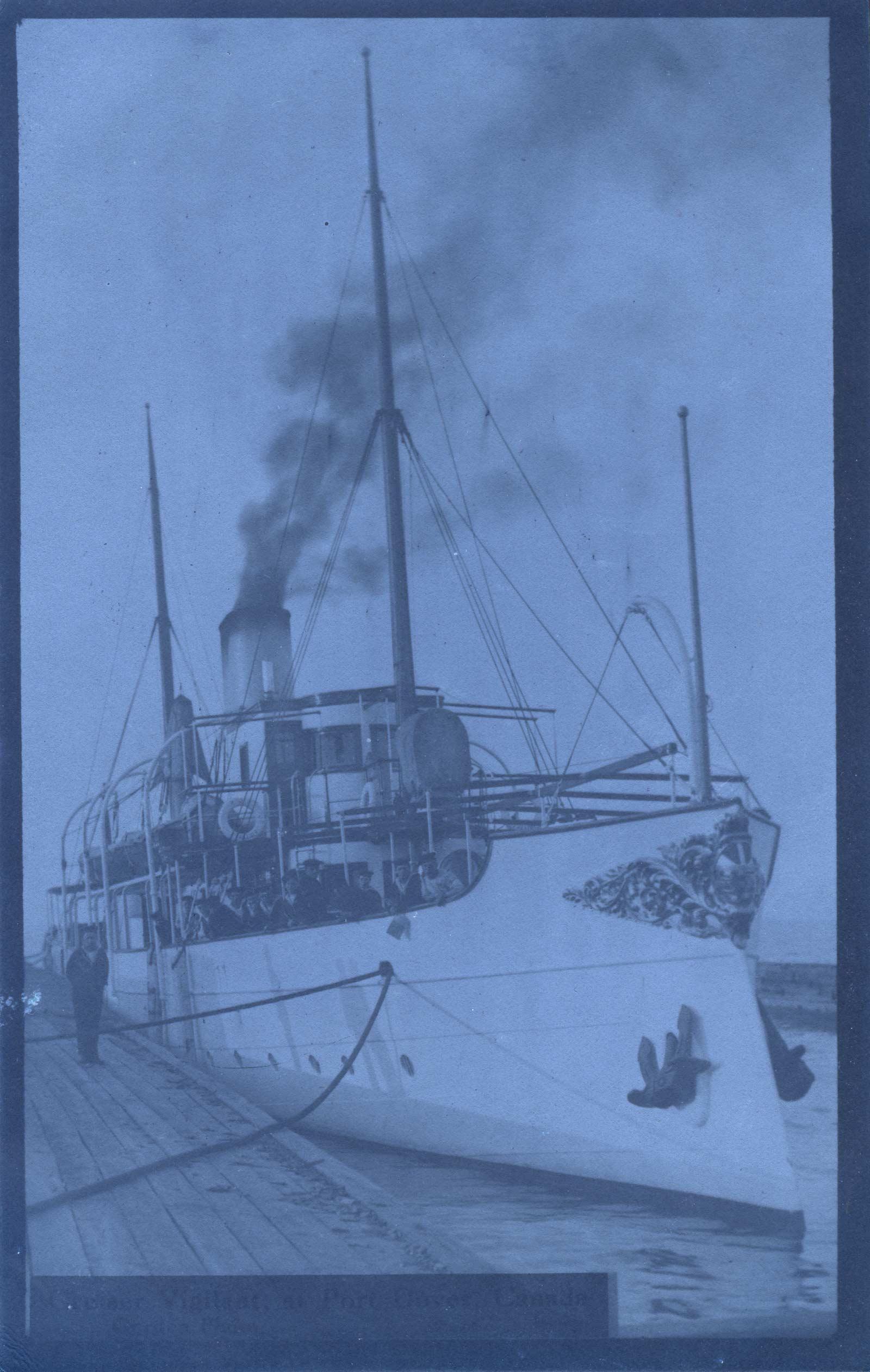 Steamer VIGILANT at Port Dover, Canada