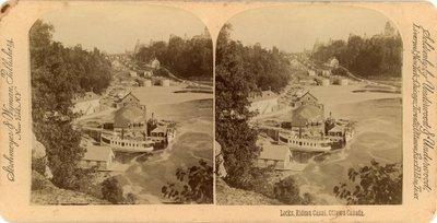 Locks, Rideau Canal, Ottawa Canada