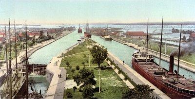 The Locks, Sault Ste. Marie, Michigan