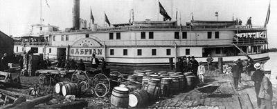 CASPIAN loading at a Bay of Quinte Port