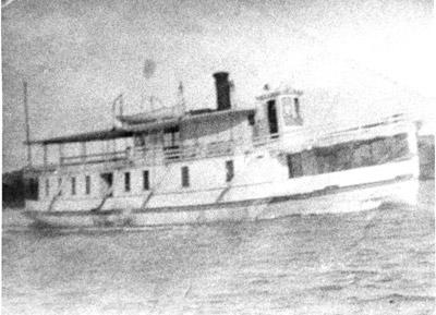 Unknown steamer