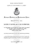 Survey of Northern and Northwestern Lakes. Bulletin No. 12 C. Lake Huron, St. Clair River, Lake St. Clair, and Detroit River.