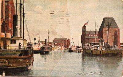 Harbor Scene, Buffalo N.Y.