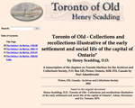 Toronto of Old