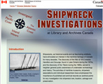 Shipwreck Investigations at Library and Archives Canada