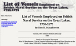 List of Vessels Employed on British ...
